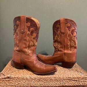 Vintage Tony Lama Cowboy Boots, made in Mexico.